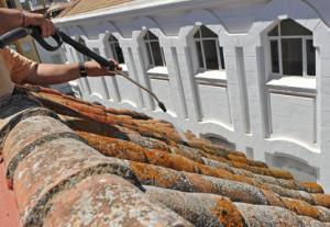 Demoussage de toiture Saint-Etienne-sur-Chalaronne